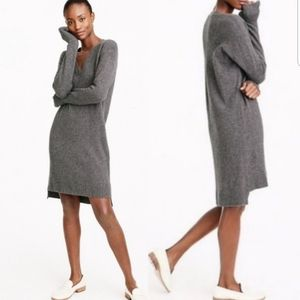J.Crew Wool Alpaca Oversized Sweater Dress H9703